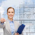 female real estate investor